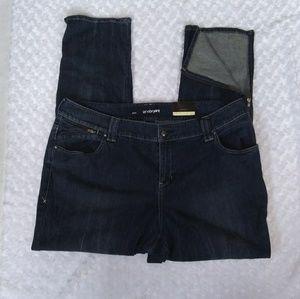 Lane Bryant slim jeans. Size 22. Zip ankles